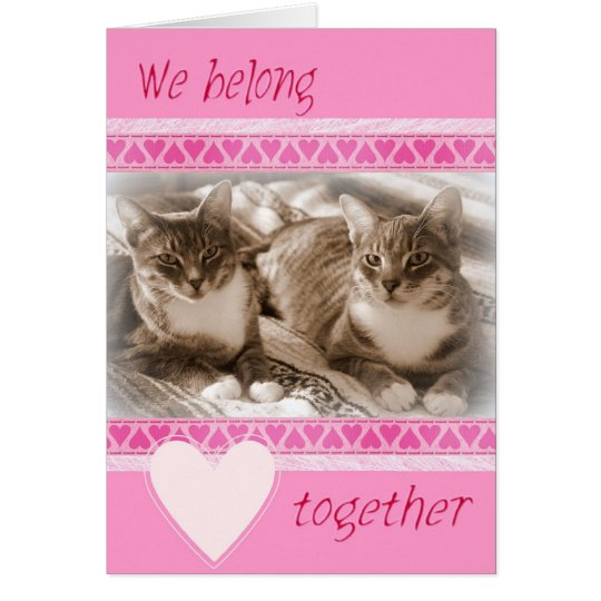Happy Cats Valentine's Day Card