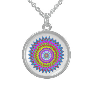 Happy Chakra Art : Sterling Silver Sterling Silver Necklace