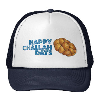 Happy Challah Days Chanukah Hanukkah Bread Hat