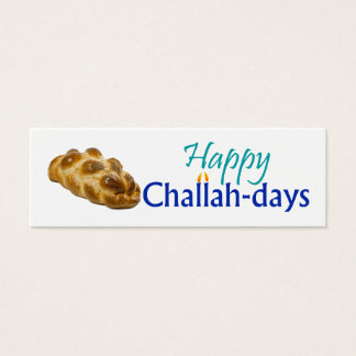 Happy Challah-days Gift Tag