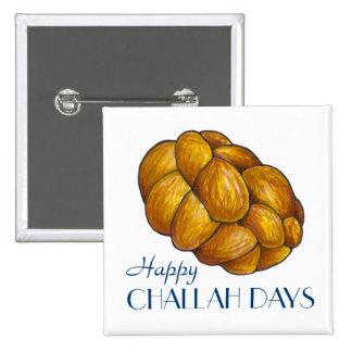 Happy Challah Days Hanukkah Chanukah Bread Button