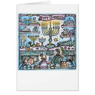 Happy Chanukah - Greeting Card