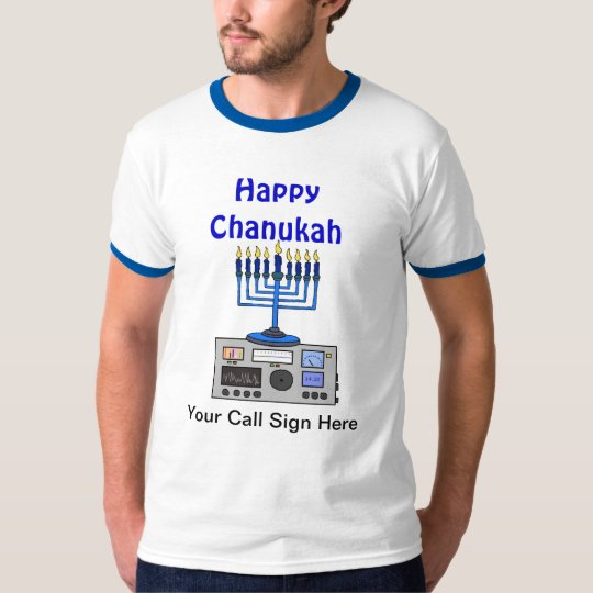 Happy Chanukah Ham Radio Tshirt