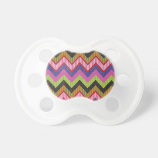 Happy chevron pacifiers