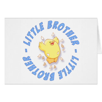 Happy Chick Little Brother Note Card