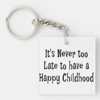 Happy Childhood Key Chain