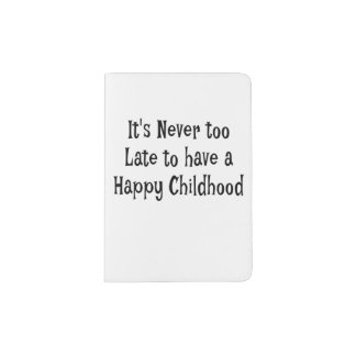 Happy Childhood Passport Cover