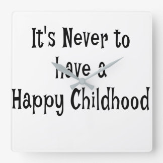 Happy Childhood Wall Clock