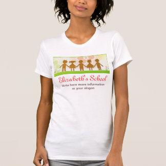 happy children cute t-shirt design