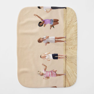 Happy Children in a Day Care or Daycare Center Burp Cloth