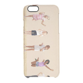 Happy Children in a Day Care or Daycare Center Clear iPhone 6/6S Case
