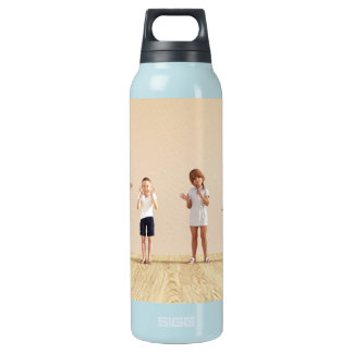 Happy Children in a Day Care or Daycare Center Insulated Water Bottle