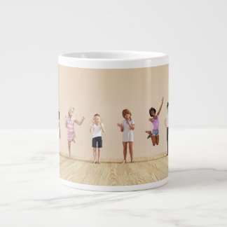 Happy Children in a Day Care or Daycare Center Large Coffee Mug