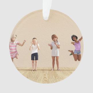 Happy Children in a Day Care or Daycare Center Ornament
