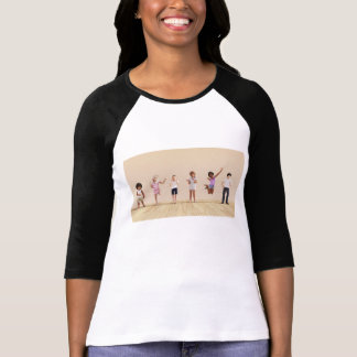 Happy Children in a Day Care or Daycare Center T-Shirt