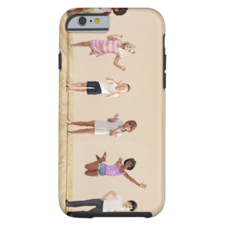 Happy Children in a Day Care or Daycare Center Tough iPhone 6 Case