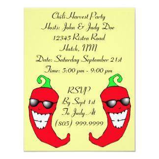 Happy Chiles Chile Pepper Ristra PARTY INVITATION
