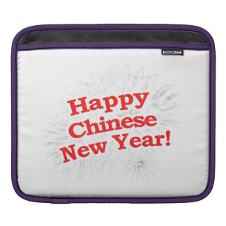Happy Chinese New Year Design iPad Sleeve