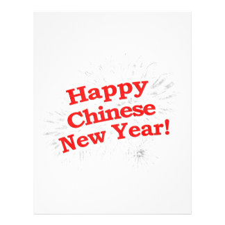 Happy Chinese New Year Design Letterhead