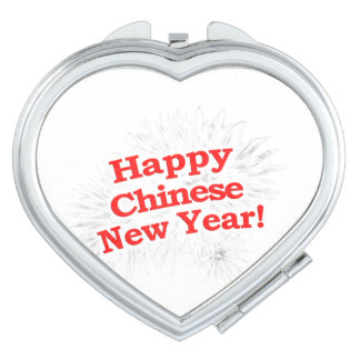 Happy Chinese New Year Design Makeup Mirrors