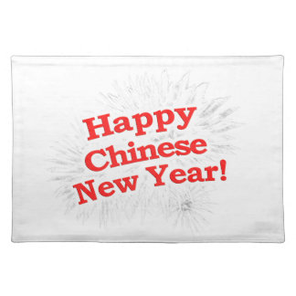 Happy Chinese New Year Design Placemats
