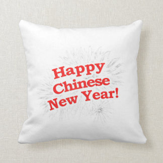 Happy Chinese New Year Design Throw Pillow