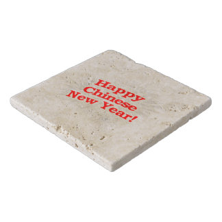 Happy Chinese New Year Design Trivet
