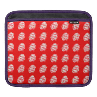 Happy Chinese New Year Pattern iPad Sleeve