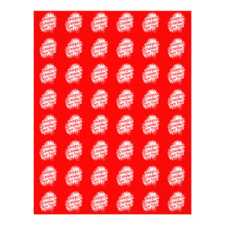Happy Chinese New Year Pattern Letterhead