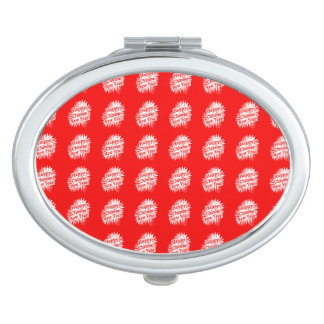 Happy Chinese New Year Pattern Mirrors For Makeup