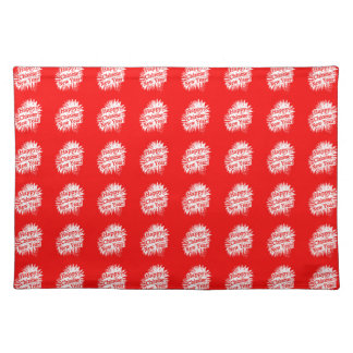Happy Chinese New Year Pattern Place Mat