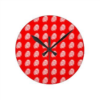 Happy Chinese New Year Pattern Round Clock