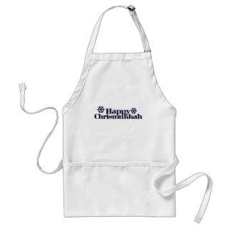 Happy chrismukkah standard apron