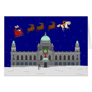 Happy Christmas - Belfast City Hall Card