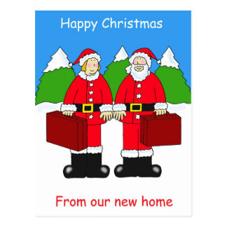 Happy Christmas from our new home Post Cards