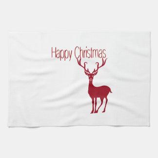 happy Christmas Kitchen Towel