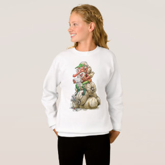 Happy Christmas Santa Elf Cartoon Shirt