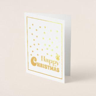Happy Christmas Snowman Christmas Card