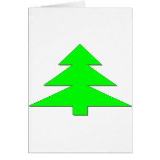Happy Christmas Tree Card