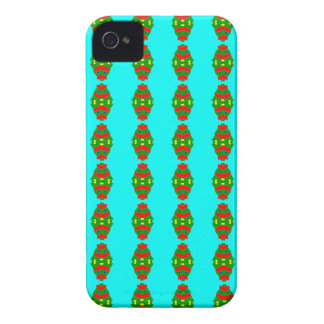 happy christmas tree iPhone 4 Case-Mate case