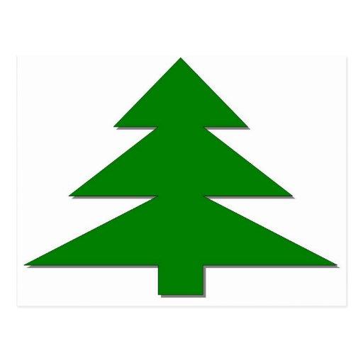 Happy Christmas Tree Post Cards
