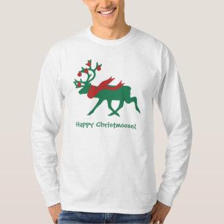 Happy Christmoose Men's Christmas Shirt