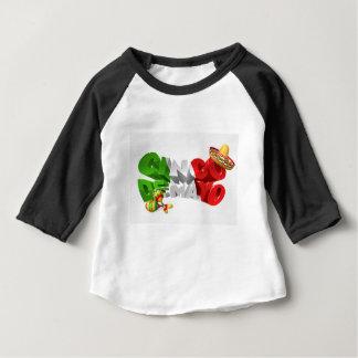 Happy Cinco De Mayo Design Baby T-Shirt