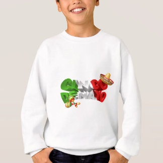Happy Cinco De Mayo Design Sweatshirt