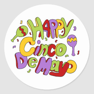 Happy Cinco De Mayo Sticker