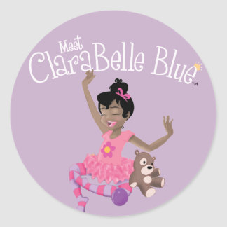 Happy ClaraBelle Sticker