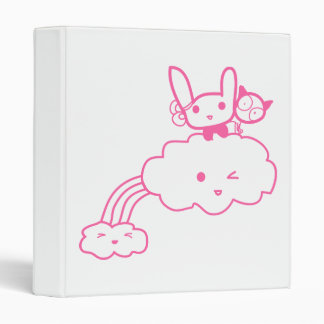 Happy Cloud Friends Binder