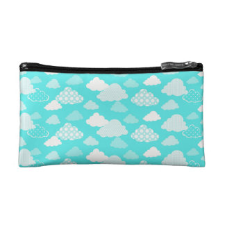 Happy Cloud Pattern Bag Cosmetic Bags