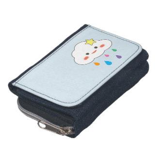 Happy Cloud & Rainbow Droplets Wallets