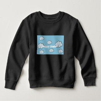 happy clouds sweatshirt